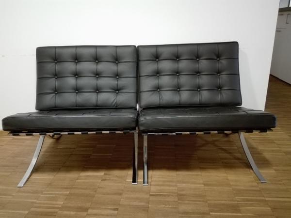 barcelona chair schwarz