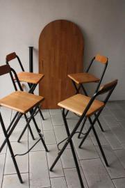 barhocker klappbar haushalt m bel gebraucht und neu kaufen. Black Bedroom Furniture Sets. Home Design Ideas