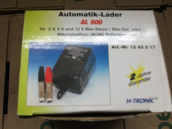 Batterieladegerät für Motorräder und Autos