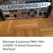 Behringer Europower PMH