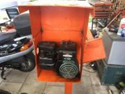 Betonmischer mit Benzinmotor