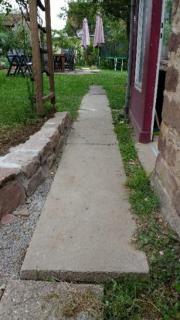 Betonplatten / Gehwegplatten / Gartenweg