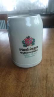 Bierkrug Plochinger Waldhornbräu