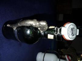 Sonstige Sammlungen - Bierkrug - Siphon - Glasflasche - Bügelverschluss