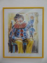 Bild Clown gelb -
