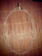 Blautopas Kette Halskette