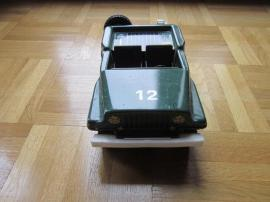 Modellautos - Blechauto Armeejeep