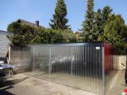 Fertiggarage 6x6m blechgarage doppelgarage fertiggarage metallgarage gerätebau 6x6m in