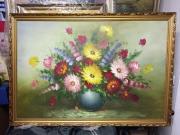 Blumengemälde 100 x 70 cm