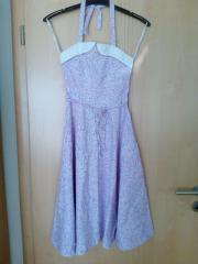 blumig lila luftig leichtes Sommerkleid