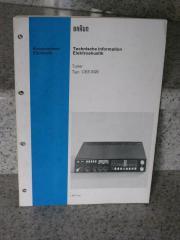 Braun CES 1020 original Manual