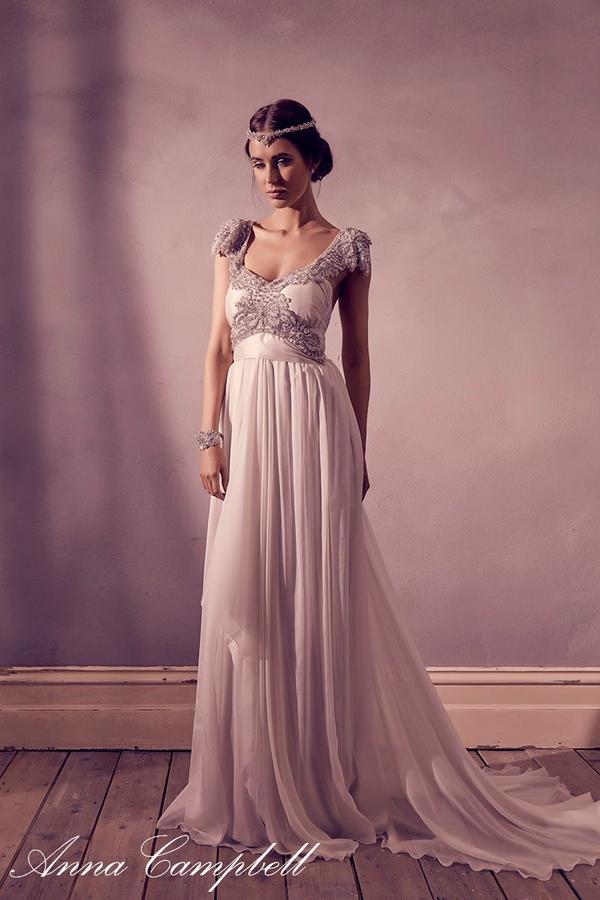 brautkleid 39 miranda dress 39 von designerin anna campbell weddingdress vintage hochzeitskleid. Black Bedroom Furniture Sets. Home Design Ideas