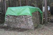 Brennholz-Haufen 42 5 Raummeter 50cm