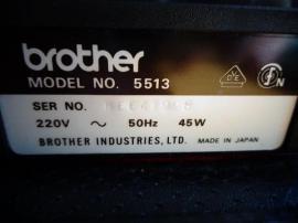 Brother Reise - Schreibmaschine 5513 elektrisch: Kleinanzeigen aus Hamburg Eidelstedt - Rubrik Büromaschinen, Bürogeräte