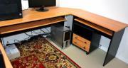Bürotisch Schreibtisch Winkelkombination
