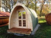 Camping Pod, Garten