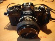 Canon AE-1 mit Tamron