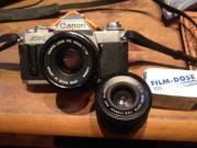 Canon av1 Spiegelreflexkamera