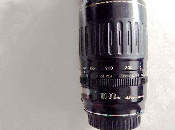Canon objektiv 100-300 ultrasonic