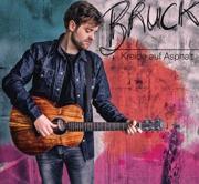 CD Bruck Kreide auf Asphalt