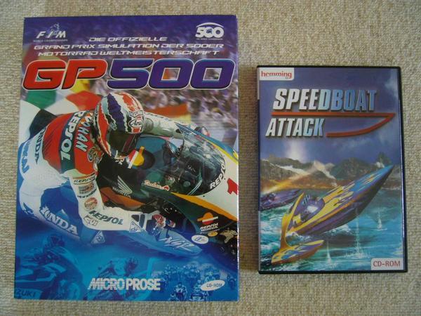 Computer PC-Spiele GP500 Motorrad Simulation