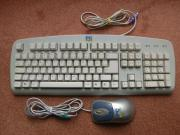 Computertastatur mit Maus