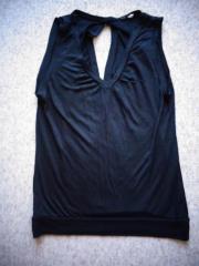 Damenbekleidung Shirt Top schwarz ca