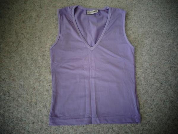 Damenbekleidung Top lila flieder Gr