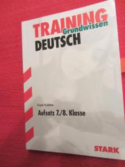 Deutsch Training Aufsatz