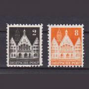 Deutsche Briefmarken von 1948 Frankfurter