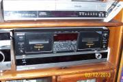 Doppel-Cassettendeck von