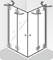 duschabtrennung glas haushalt m bel gebraucht und neu kaufen. Black Bedroom Furniture Sets. Home Design Ideas