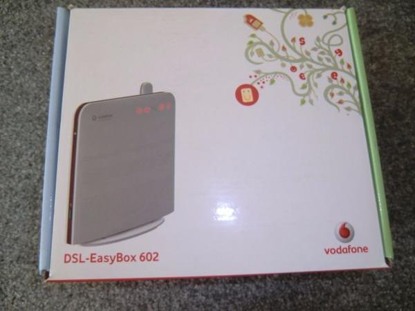 Easybox 602 Vodafone, » DFÜ, Modems, ISDN, DSL