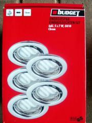 Einbauleuchten 7W -Energiesparlampe- neu - original verpackt