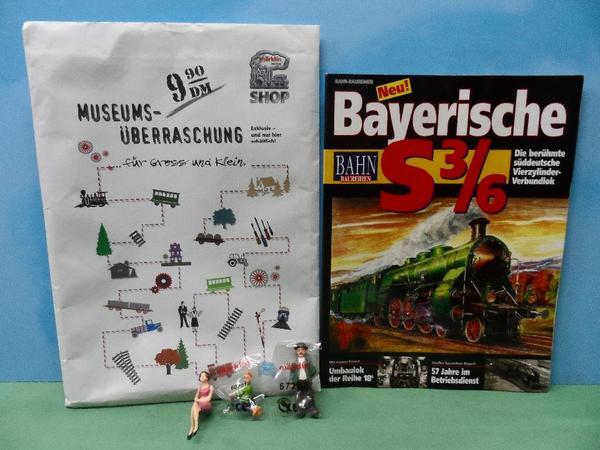 Eisenbahn - Modelleisenbahn - Märklin - 2x MUSEUMSÜBERRASCHUNG