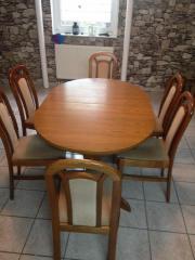 Esszimmer Tisch U0026 6