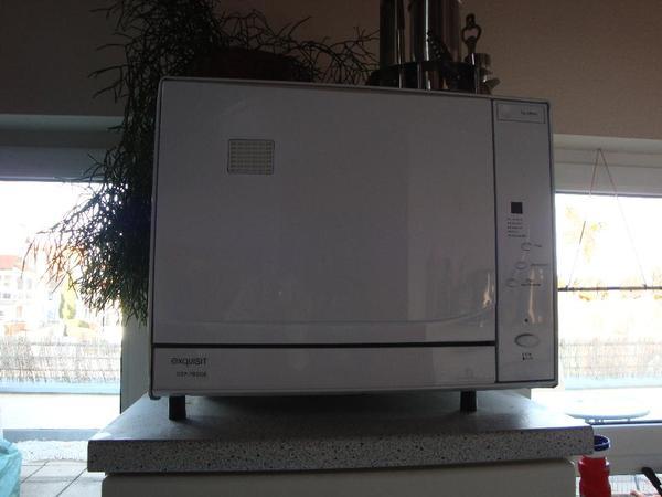 Exquisit Tischspülmaschine Spülmaschine Tischgeschirrspüler in ... | {Tischgeschirrspüler 58}