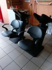 Friseureinrichtungen günstig abzugeben