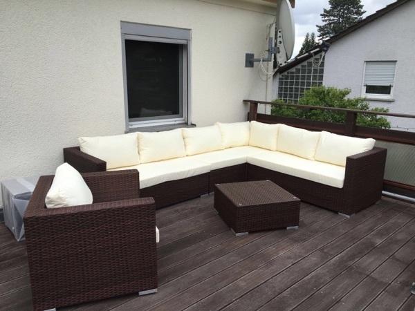 garten lounge ma bel gebraucht kaufen nur 4 st bis 70. Black Bedroom Furniture Sets. Home Design Ideas