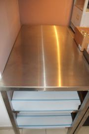 gastro edelstahl tisch küche arbeitstisch edelstahltisch imbiss in ... - Gastronomie Küche Kaufen