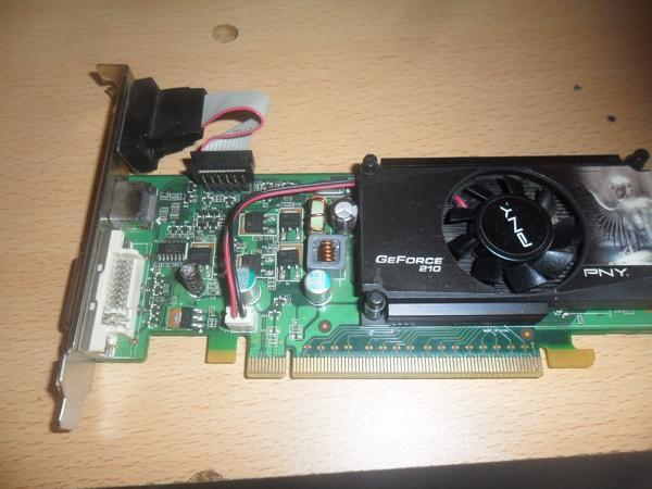 GeForce GT 210 Grafikkarte - Neunkirchen Innenstadt - GeForce GT 210 Grafikkarte(PCI-e, 520MHz, 64Bit,1,2GHz,1GB,GDDR3, VGA, DVI, HDMI, 1 GPU)Top Zustand - Neunkirchen Innenstadt