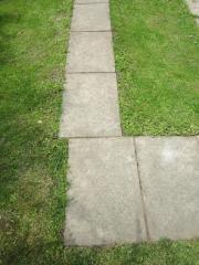 Gehwegplatten, Betonplatten, 50x75x5,