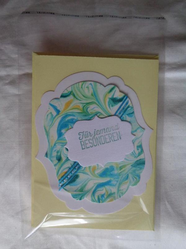 Green Farben München glückwunschkarten marmoriert handarbeit verschiedene farben und