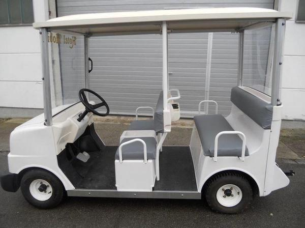 golf cart hitachi 48 volt golfcar ecart hic 510 golfmobil gebraucht in krefeld golfsport. Black Bedroom Furniture Sets. Home Design Ideas