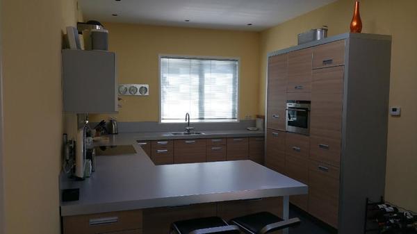 große einbauküche küche in u form mit marken geräte in stuttgart ... - Große Küche