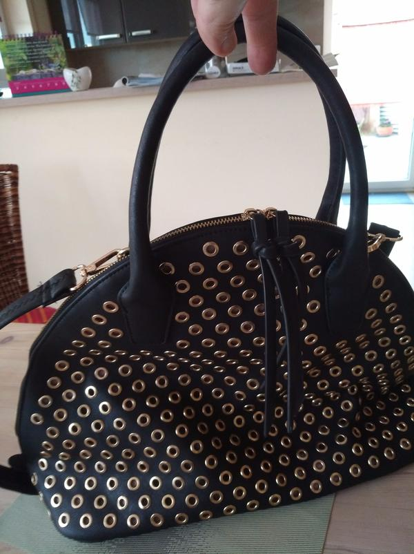 Große Handtasche schwarz » Taschen, Koffer, Accessoires