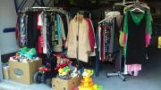 Großer Garagenflohmarkt am