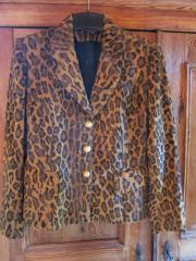 Hallhuber Leopardjacke Imitat