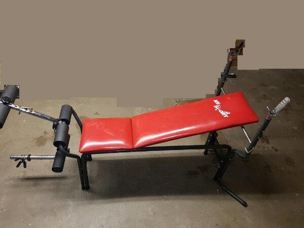 kraftstation kettler hantelbank gebraucht kaufen nur 3 st. Black Bedroom Furniture Sets. Home Design Ideas