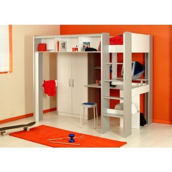 Hochbett Mit Integriertem Kinder Jugendzimmer
